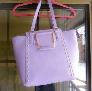 Light purple Handbag